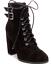 thumbnail 1 - NEW Madden Girl Women's Klaim Combat Boots Size 7.5 Black $89