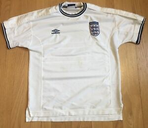 4de972da Image is loading Umbro-England-National-Soccer-Team-Jersey-Mens-Large-