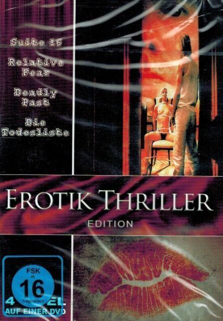 DVD NEU/OVP - Erotik Thriller Edition - Suite 16, Relative Fear u.a. - 4 Filme