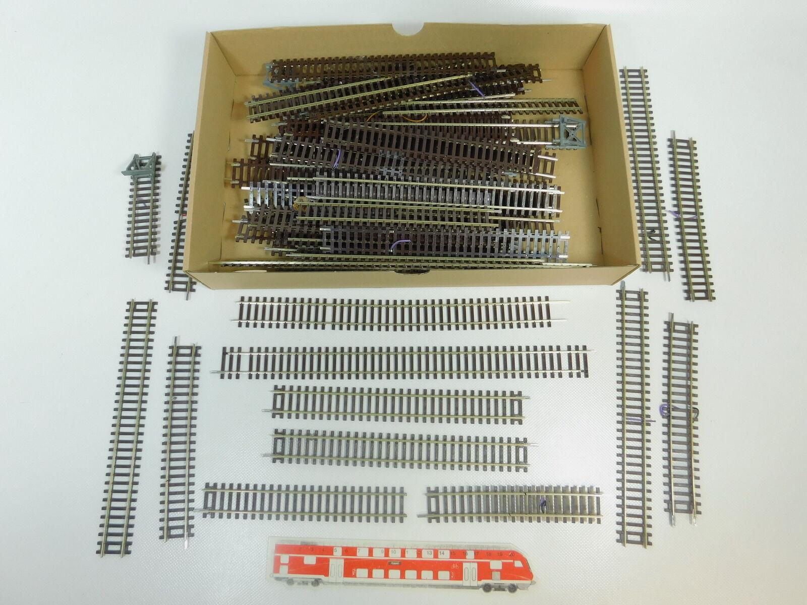 Bn909-2 x h0 DC roco straight path  42410 +42430 +42400 etc., Crafts