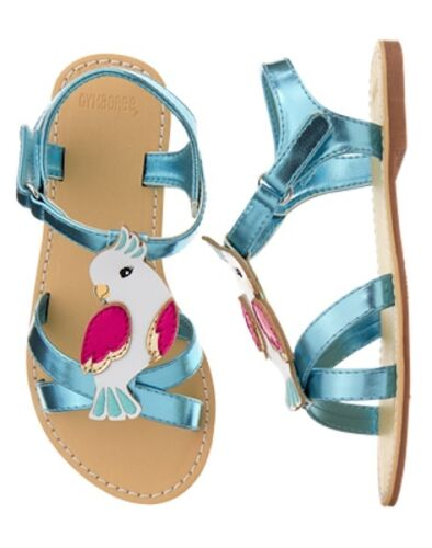 NWT Gymboree Jungle Brights Bird Sandals Shoes Girls 11,12,13,1,2