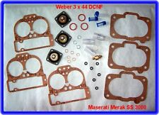 Weber 3 x 44 DCNF 44, carburatore REP. KIT, Maserati Merak SS