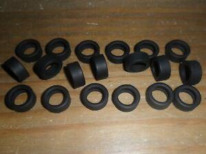 Scalextric-20-new-grippy-slick-car-tyres-BMW-Mini-Subaru-Lancer-Focus-etc-Spares
