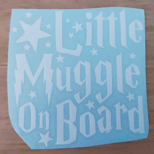 Baby Muggle//Wizard on Board//Sorting Hat Vinyl Decal Child on Board Baby on Board