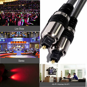 Digital Fibre Optical Audio Toslink SPDIF Cable Lead Surround Sound DTS SKY Ps4 - LONDON, Buckinghamshire, United Kingdom - Digital Fibre Optical Audio Toslink SPDIF Cable Lead Surround Sound DTS SKY Ps4 - LONDON, Buckinghamshire, United Kingdom