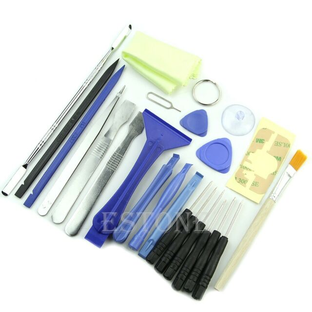 23 in 1 Opening Pry Tool Kit Repair Metal Spudger Screwdriver Set For Pad Tablet
