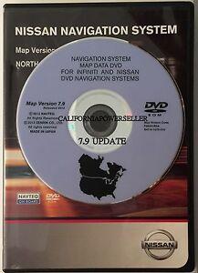 nissan and infiniti navigation system map data dvd ebay. Black Bedroom Furniture Sets. Home Design Ideas