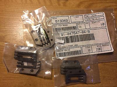 (2) new 91-047547-04-B feeders for PFAFF 463 sewing machine