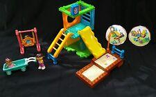 Mega Bloks Dora The Explorer Playground Park  Toy works with Lego Duplo
