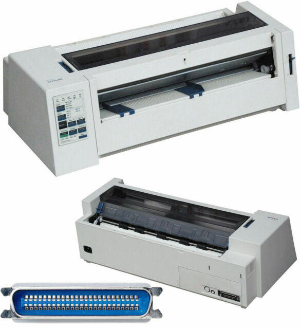 A3 A4 Dot-Matrix Printer dot IBM Lexmark 2381 plus Band New Msdos Win 95 98