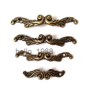 10pcs Antique Drawer Pull Jewelry Box Handle Little Box Pull Cabinet