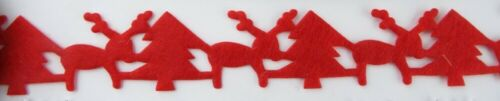 3 DESIGN 20mm 30mm Christmas Cutouts Cardmaking Scrapbooking Bunting BUY 1 2 4m+