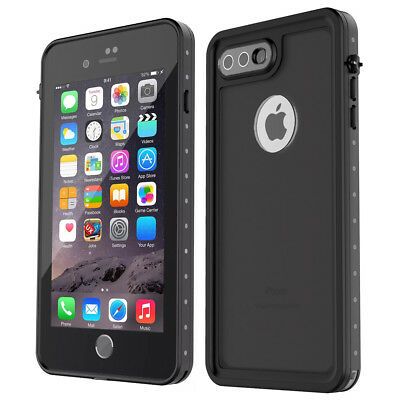 check out 6e464 33e98 iPhone 7 Plus and 8 Plus Case ROOLUX® Waterproof Full-body With Screen  Protector | eBay