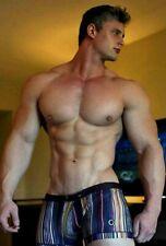 Shirtless Male Muscular Athletic Body Swimmer Jocks Hot Beefcake PHOTO 4X6 F1335