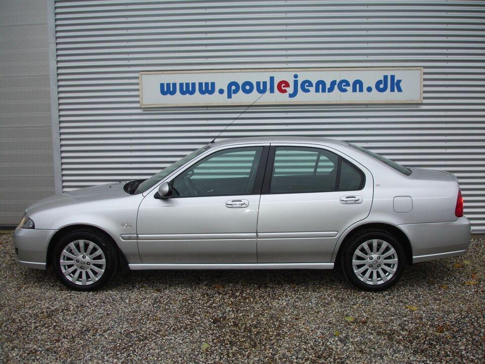 Rover 45 1,6 Club SE Benzin modelår 2006 km 104000 Sølvmetal