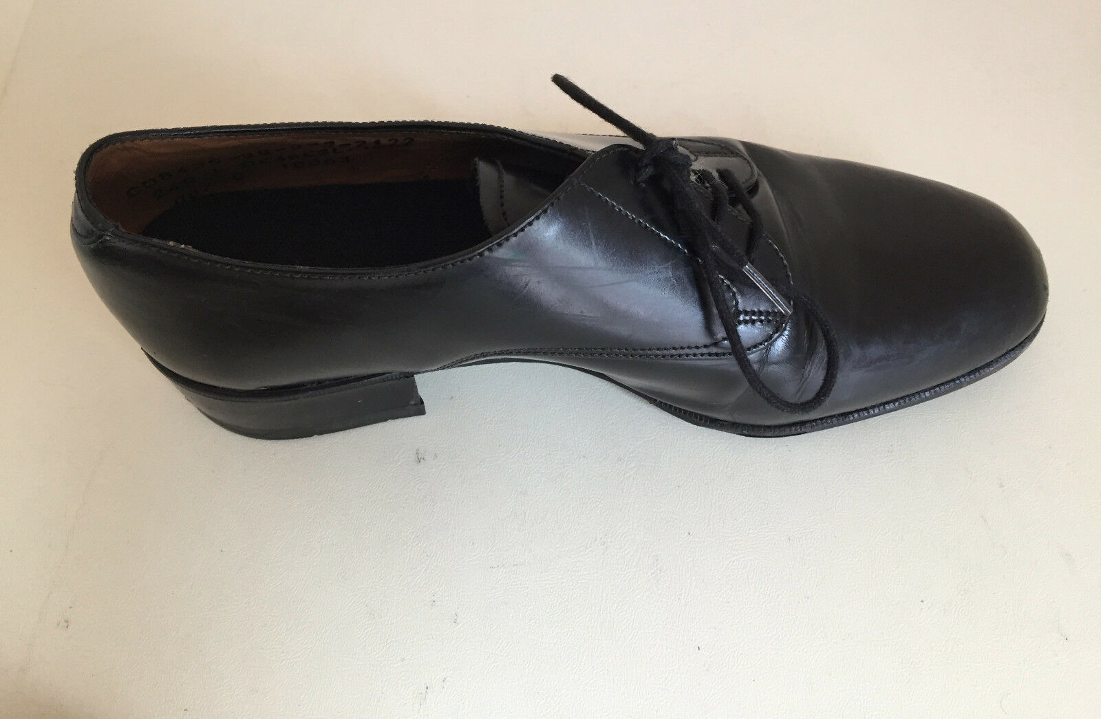 Mesdames cuir de brevet Plat Souliers Brogues Chaussures UK 5