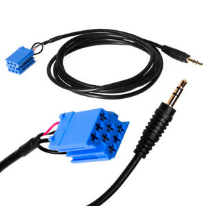 AUX-Line-In-Adapter-Kabel-Stecker-Buchse-Auto-Radio-MP3-fuer-Smart-for-Two-450