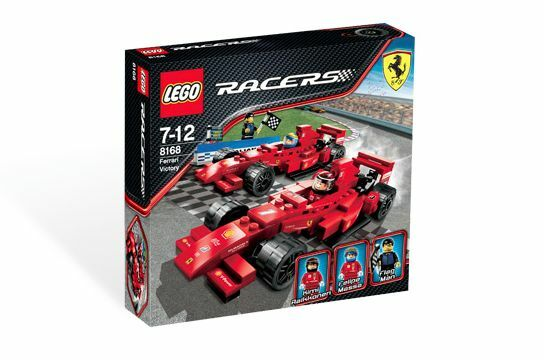 LEGO ® Racers 8168 Ferrari Victory NEUF neuf dans sa boîte NEW En parfait état, dans sa boîte scellée Boîte d'origine jamais ouverte