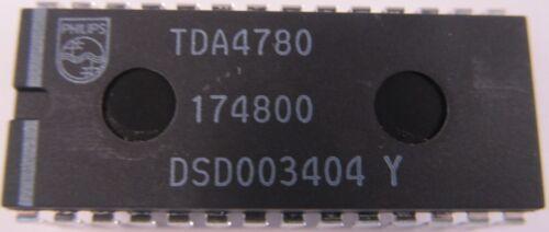 2 Pièces-tda4780 PHILIPS dip28-RGB Vidéo Processeur tda4780//v4 2 pieces