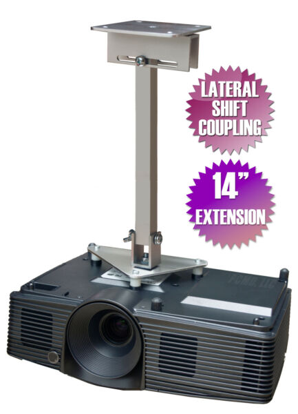 Beminnelijk Projector Ceiling Mount For Optoma Du380 Eh504 Eh504wifi Gt1080darbee W490 W504