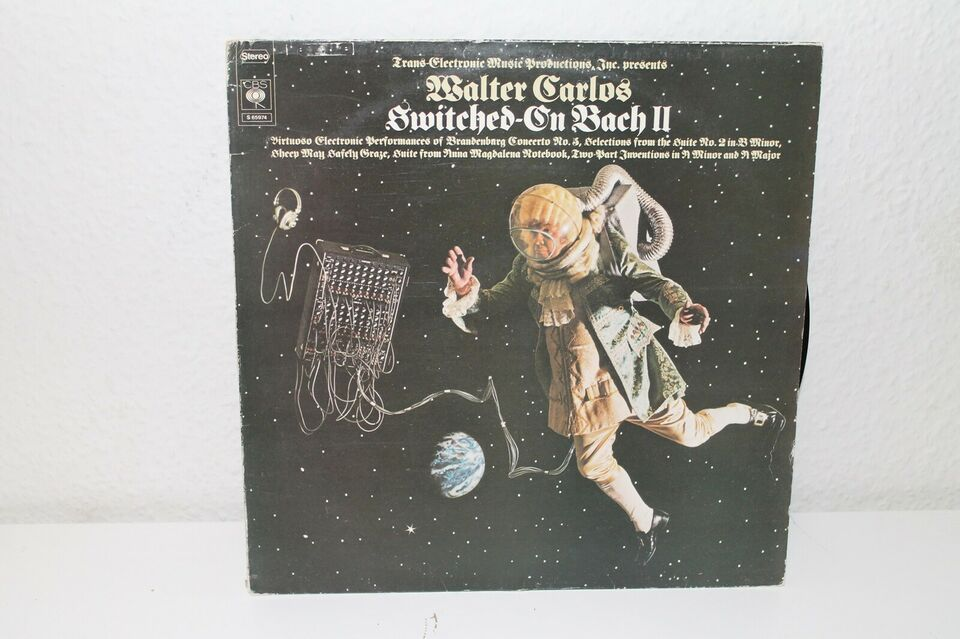LP, Walter Carlos, Switched On Bach II