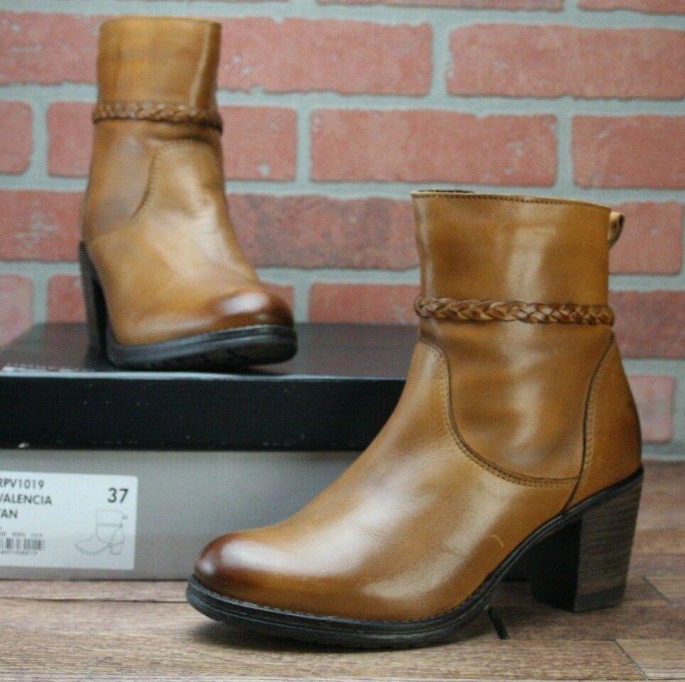 Umberto Raffini Signature Signature Signature Women's Valencia Tan Short Boots EU 37   US 6.5 068cb5