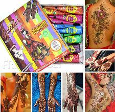 12x Golecha farbige Henna Kegel-Multi Colour á 25g Hennapaste - 6 Farben