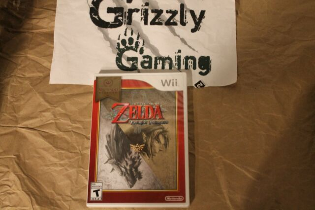 NEW The Legend of Zelda: Twilight Princess Wii (NTSC)
