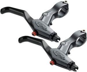 Avid-Speed-Dial-FR-SD-7-Brake-Lever-Set-Pair-Graphite-Pair-Suit-BB7-BB5
