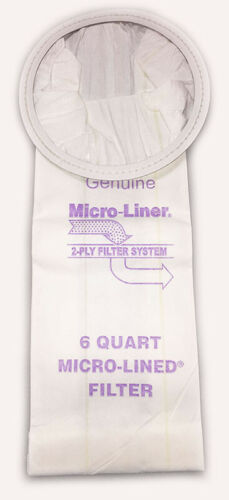 ProTeam 6qt 6.6L 100431 Micro Allergen Vacuum Cleaner Bags by DVC Made in USA