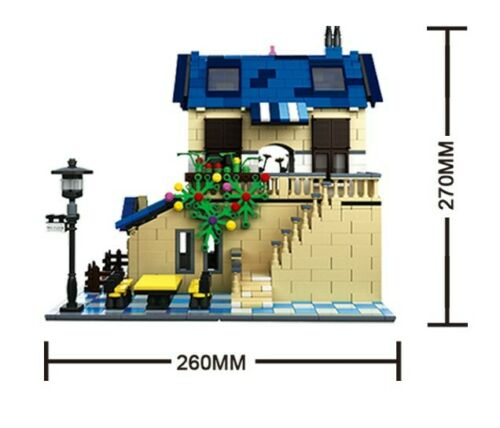 Wange 5311 French Country Lodge Architecture Building Block Set