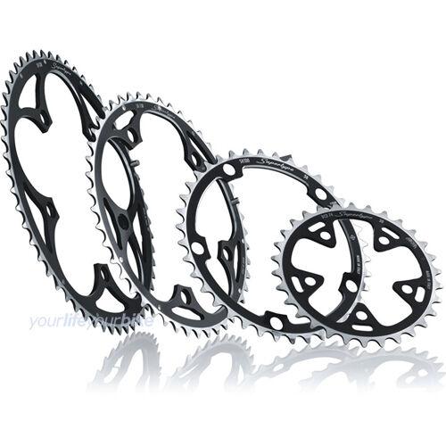 Miche cadenas hoja 46 dientes Campagnolo 135mm bicicleta de carreras carreras carreras 9-10-f exterior campa Super Type 2eadaa