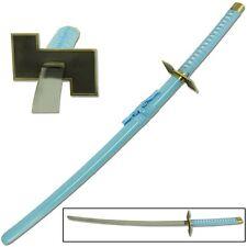 Japanese Anime Blue Ninja Samurai Katana Sword Cosplay Replica Carbon Steel