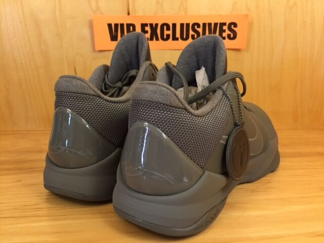 728b7502268b04 Nike Zoom Kobe V 5 FTB Fade To Black Tumbled Grey Black Mamba 869454 ...