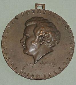 100% Wahr Große Medaille 10 Deutsches Sängerbundesfest Wien 1928 Im Sommer KüHl Und Im Winter Warm