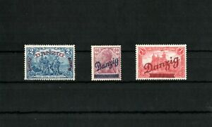 1920-60-Pfg-bis-2-bis-1-Mark-Groser-Innendienst-kompletter-MNH-SIGNED