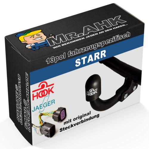 Hook enganche remolque starr para mercedes clase c w205 s205 14-18 13p específicamente