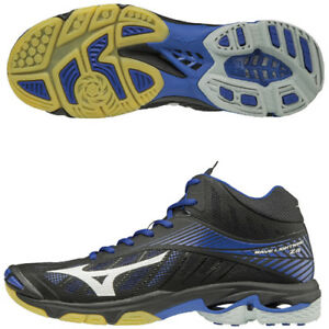 bc699d9eb84 Mizuno Japan Men s WAVE LIGHTNING Z4 MID Volleyball Shoes V1GA1805 ...