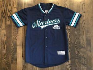 new style 3e21a dc1cb Details about Vintage True Fan ICHIRO SUZUKI #51 Seattle Mariners Jersey  Size Youth Large