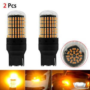 7440-Amber-LED-Bulbs-Turn-Signal-Lights-SMD-No-Hyper-Flash-for-Ford-amp-Toyato-amp-Honda