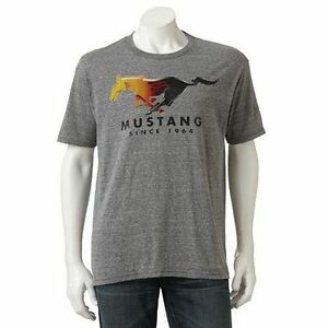 Ford mustang t shirt vintage style since 1964 ebay for Vintage mustang t shirt