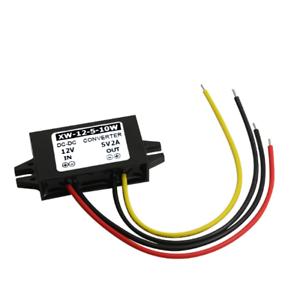 DC 12V Stepdown to DC 5V 2A 10W Converter Regulator Car Power Supply Adaptor