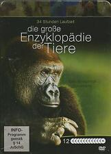 Die große Enzyklopädie der Tiere (34 Stunden)  12-DVD`s / DVD / Steelbook