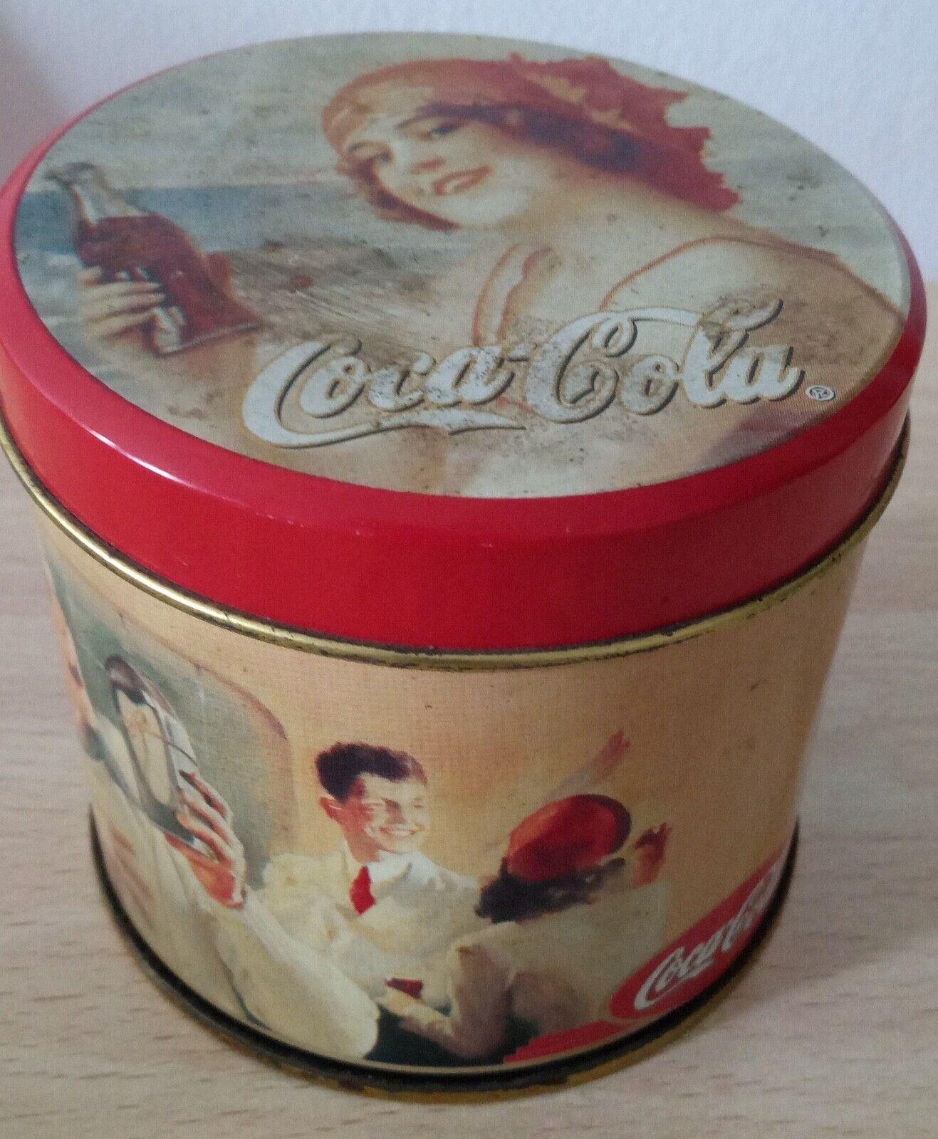Lata de colección vintage de Coca Cola