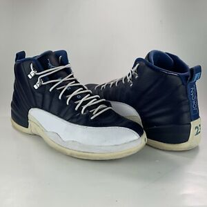 release date: e9505 af874 Image is loading Nike-Air-Jordan-12-XII-Obsidian-2012-Retro-