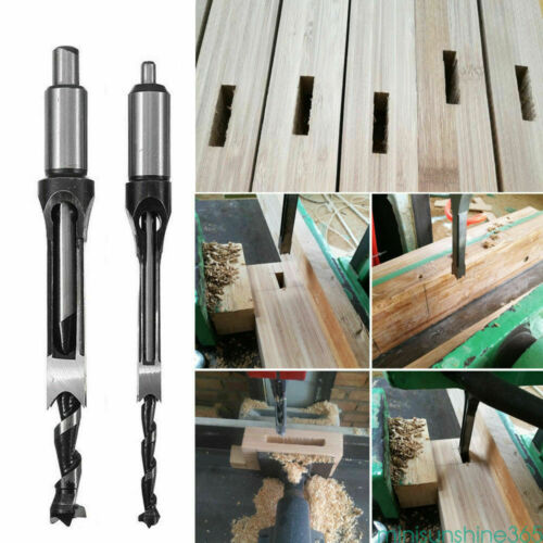 10mm Square Hole Saw Drill Bit Auger Mortising Chisel Carve Woodworking Tools