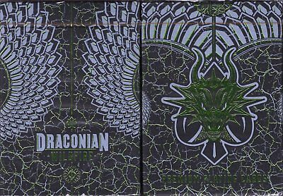 Draconian Wildfire Playing Cards Poker Size Deck LPCC Custom Limited Edition New