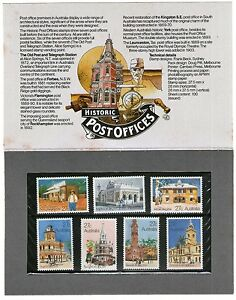 Details About Australia Stamp Pack Historic Post Offices Mint
