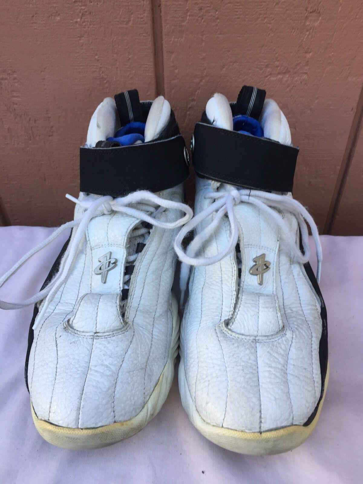 Nike royal air max iv 4 bianco / nero