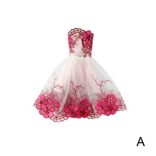 Wedding Dress for 11.5inch Doll Princess Long Dresses Doll Clothes 1//6 Toy